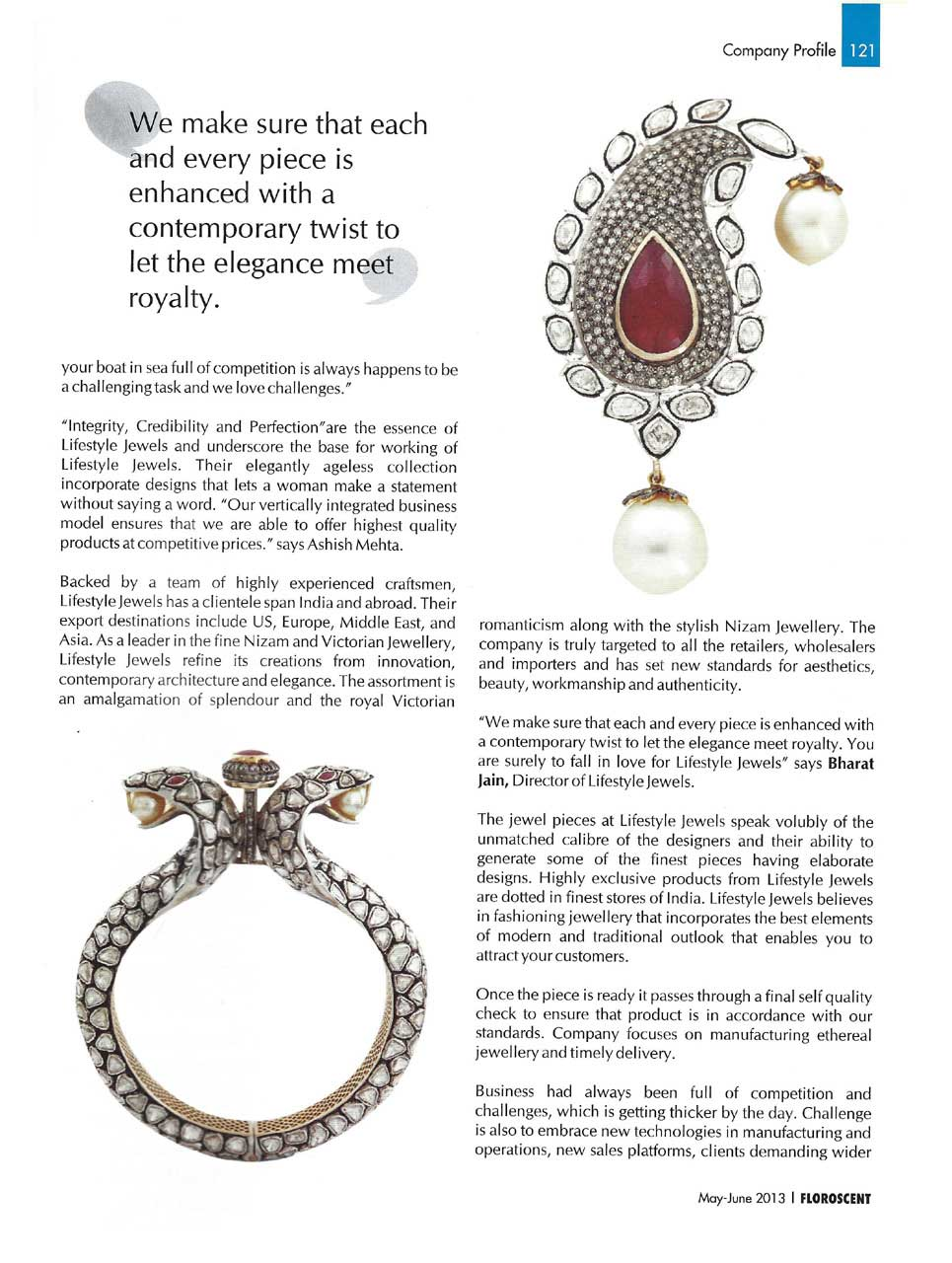 Nizam & Victorian elegance jewellery collection India